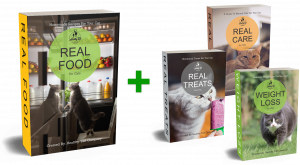 """Introducing... The Home Cookbook for Cats """"REAL FOOD for CATS"""""""