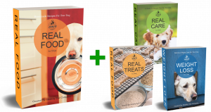 I'M PROUD TO INTRODUCE... REAL FOOD for DOGS Cookbook