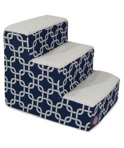 Plush Sherpa Pet Stairs Links 3 or 4 Step