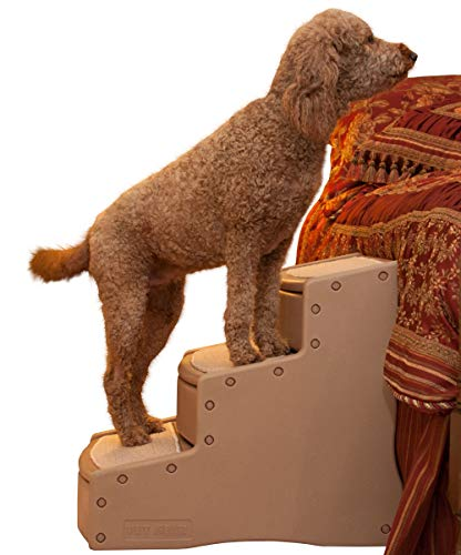 Easy Step III Extra Wide Pet Stairs, Tan