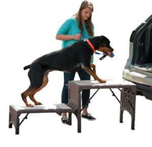 Pet Gear Free Standing Ramp for Cats and Dogs. Great for SUV's or use Next to your Bed.