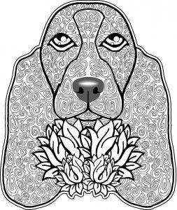 Daisy's Doggy & Kitty Adult Coloring Pages