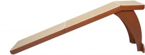 Wood Pet Ramp with Cherry or White Finish